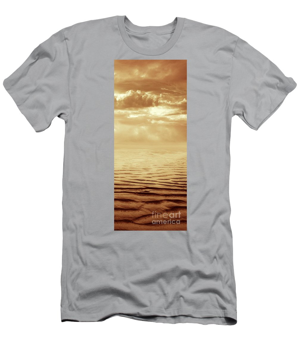 Dipasquale Men's T-Shirt (Athletic Fit) featuring the photograph Illusion Never Changed Into Something Real by Dana DiPasquale
