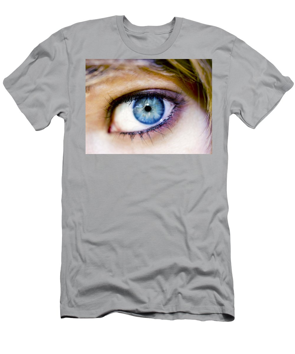 Eye Men's T-Shirt (Athletic Fit) featuring the photograph Imagine by Kelly Jade King