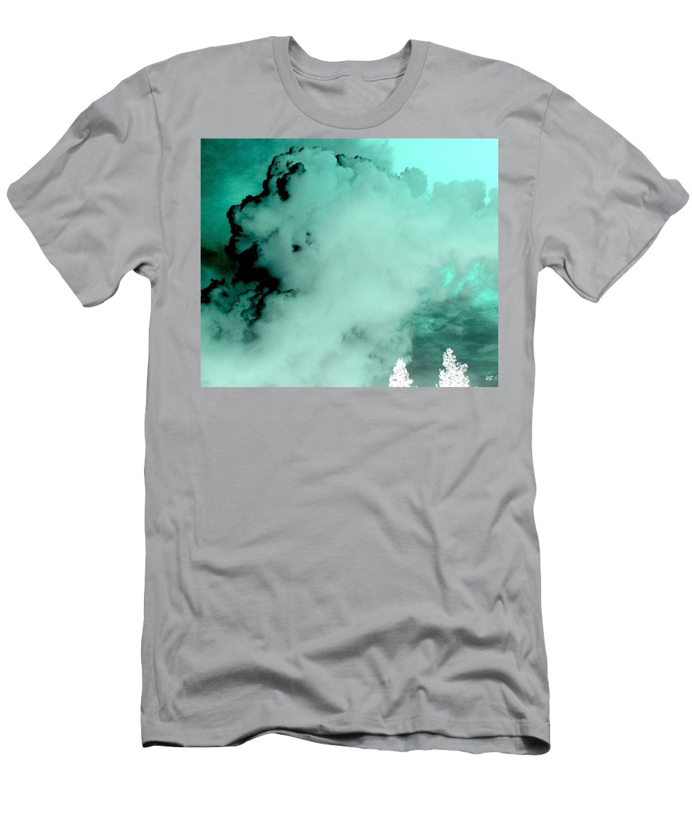 Impressions Men's T-Shirt (Athletic Fit) featuring the digital art Impressions 10 by Will Borden