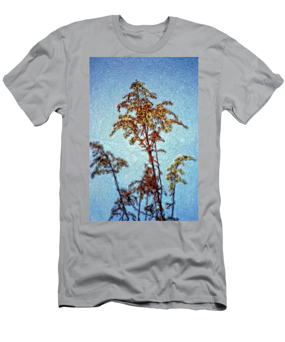 Weed Men's T-Shirt (Athletic Fit) featuring the photograph In Praise Of Weeds II by Steve Harrington
