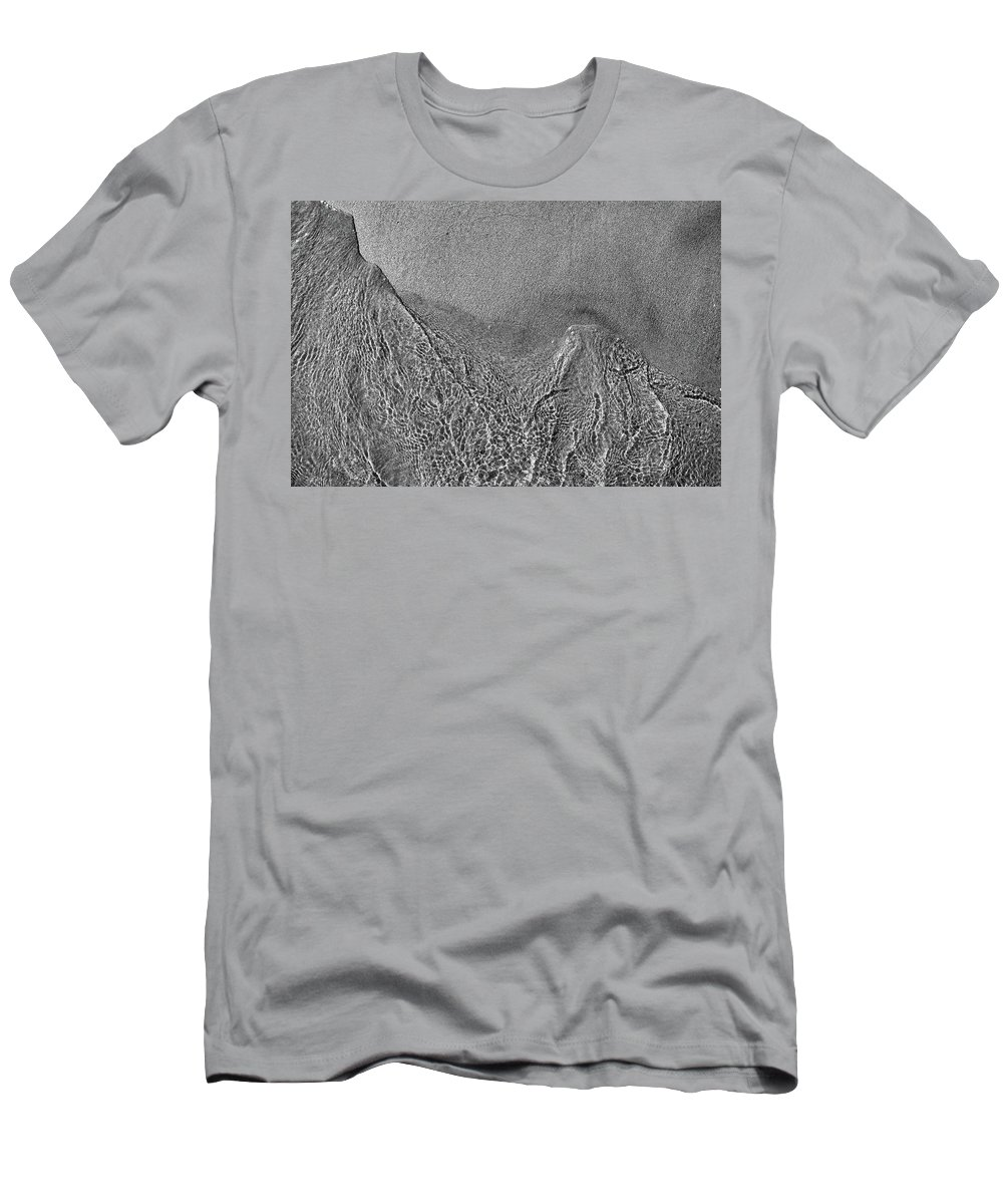 Abstract Men's T-Shirt (Athletic Fit) featuring the photograph In The Moment Bw by Lyle Crump