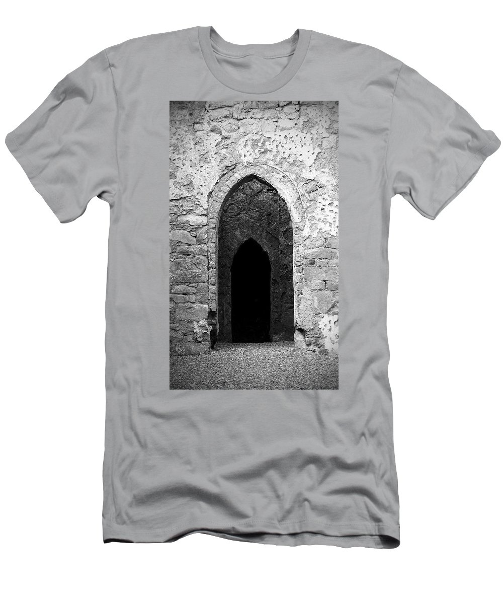 Ireland Men's T-Shirt (Athletic Fit) featuring the photograph Inner Sanctum Fuerty Church Roscommon Ireland by Teresa Mucha