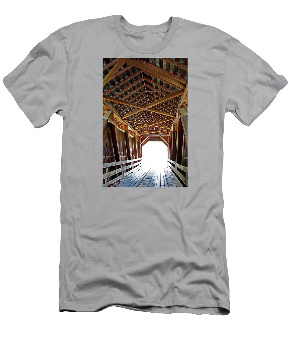 Light Men's T-Shirt (Athletic Fit) featuring the photograph Into The Light by Margie Wildblood