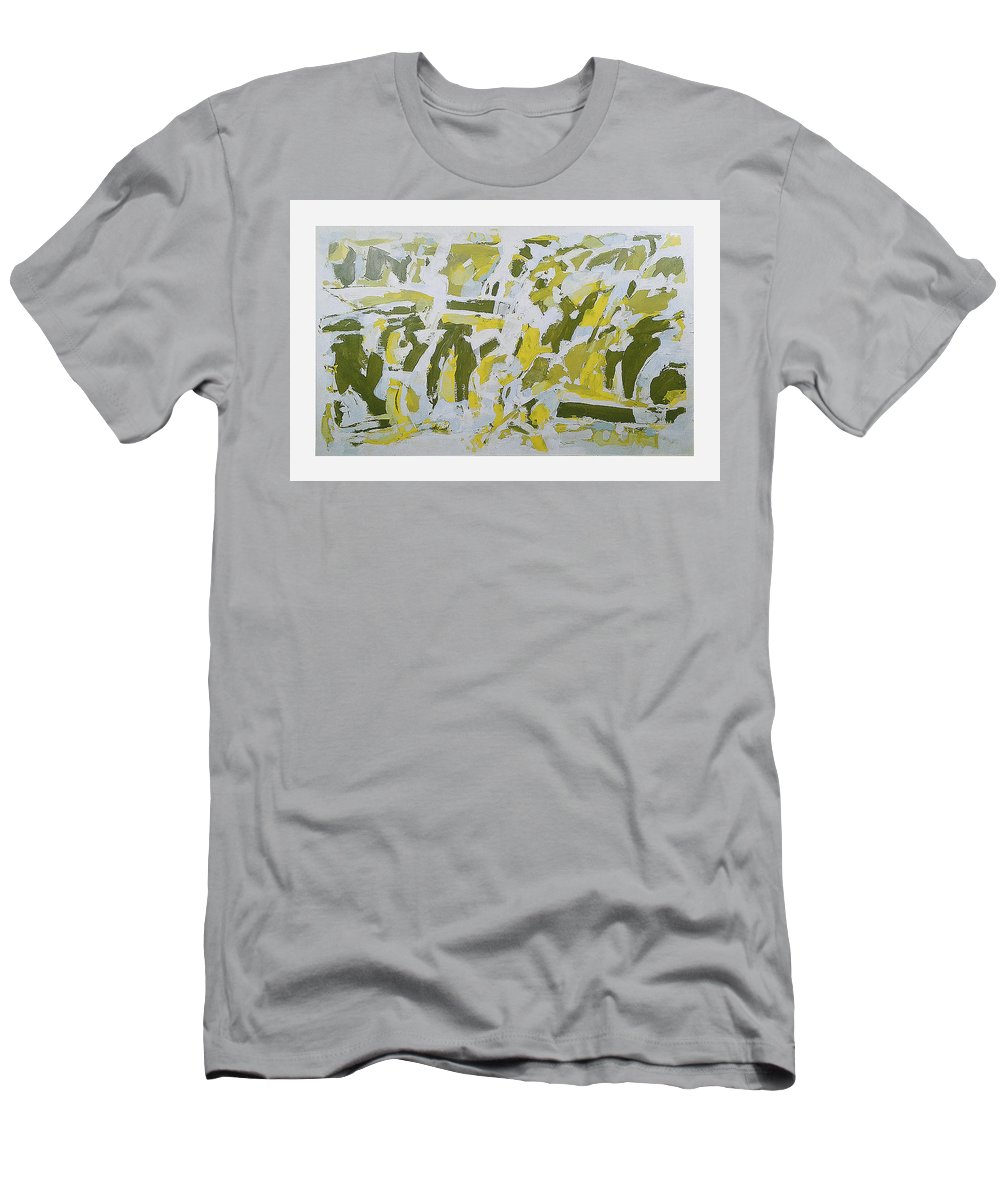 Jules Massenet Meditation Men's T-Shirt (Athletic Fit) featuring the painting Jules Massenet Meditation by Vladimir Vlahovic