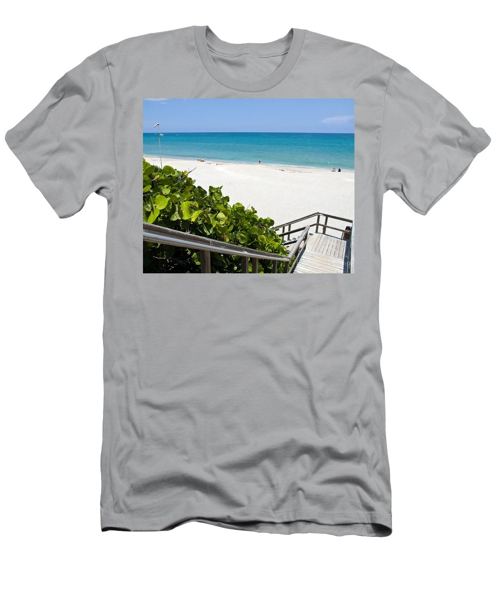 Juno; Florida; Loxahatchee; River; Jupiter; Inlet; Swim; Swimming; Children; Girl; Boy; Woman; Man; Men's T-Shirt (Athletic Fit) featuring the photograph Juno Florida by Allan Hughes