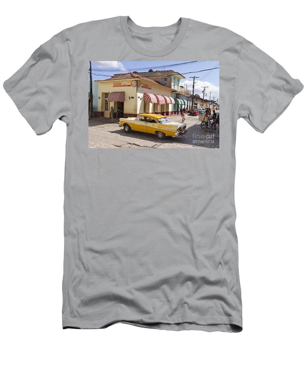 City T-Shirt featuring the photograph Kuba Trinidad by Juergen Held