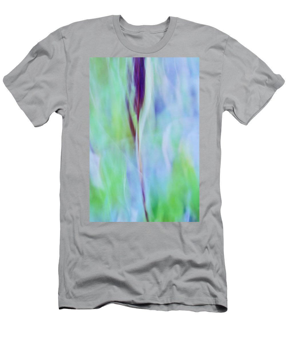 Blue Men's T-Shirt (Athletic Fit) featuring the photograph L Epi by Variance Collections