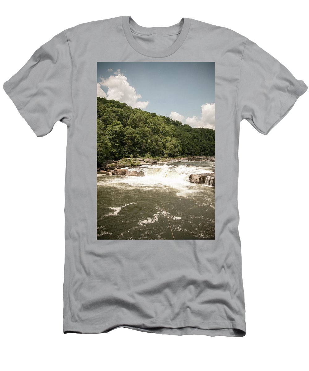 Photography Men's T-Shirt (Athletic Fit) featuring the photograph Landscape by Jessica Hamlyn