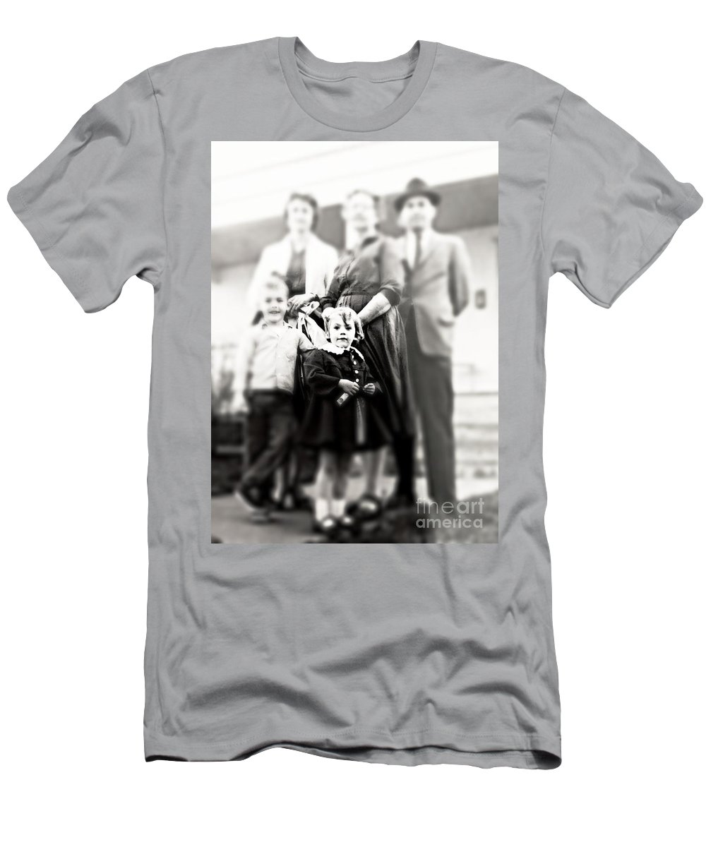 Girl Men's T-Shirt (Athletic Fit) featuring the photograph Little Girl by Jenny Revitz Soper