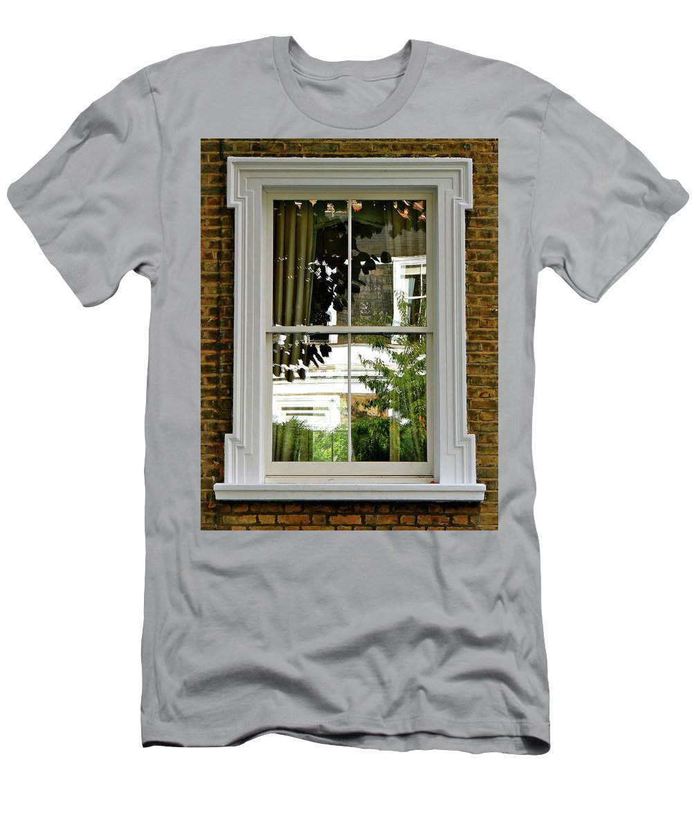 London Men's T-Shirt (Athletic Fit) featuring the photograph London At Four by Ira Shander
