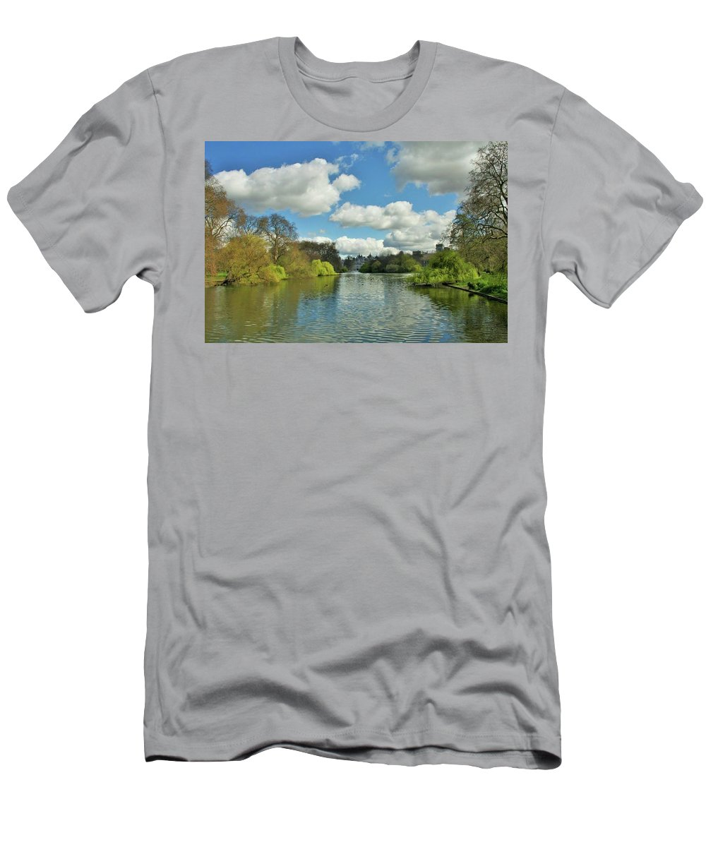 London Men's T-Shirt (Athletic Fit) featuring the photograph London by Vel Chou