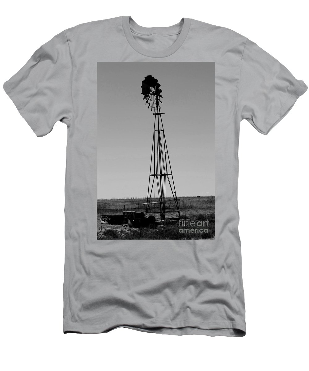 Sante Fe Trail T-Shirt featuring the photograph Lost Breeze by Tommy Anderson