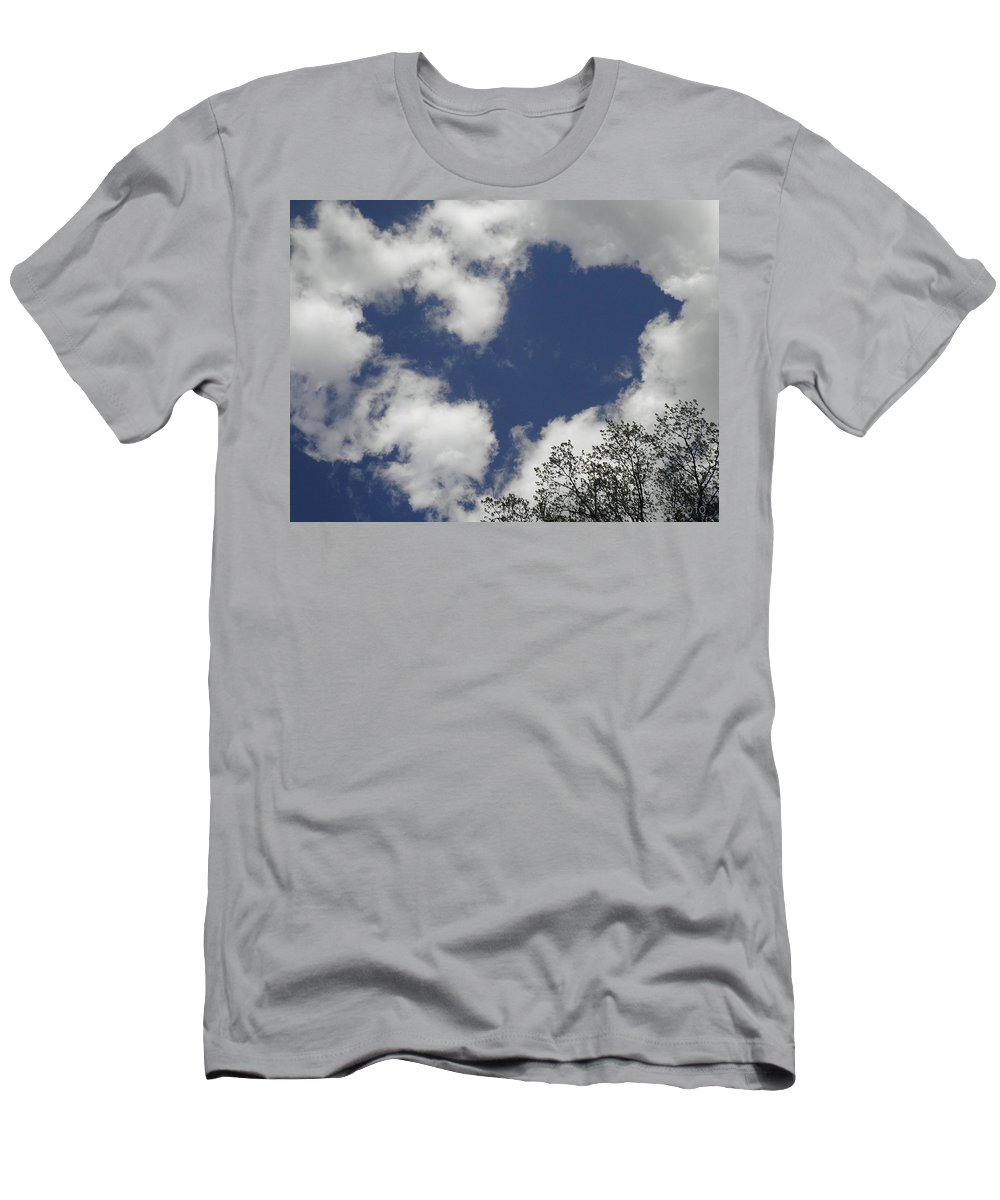 Sky Men's T-Shirt (Athletic Fit) featuring the photograph Love From Above by T Cook