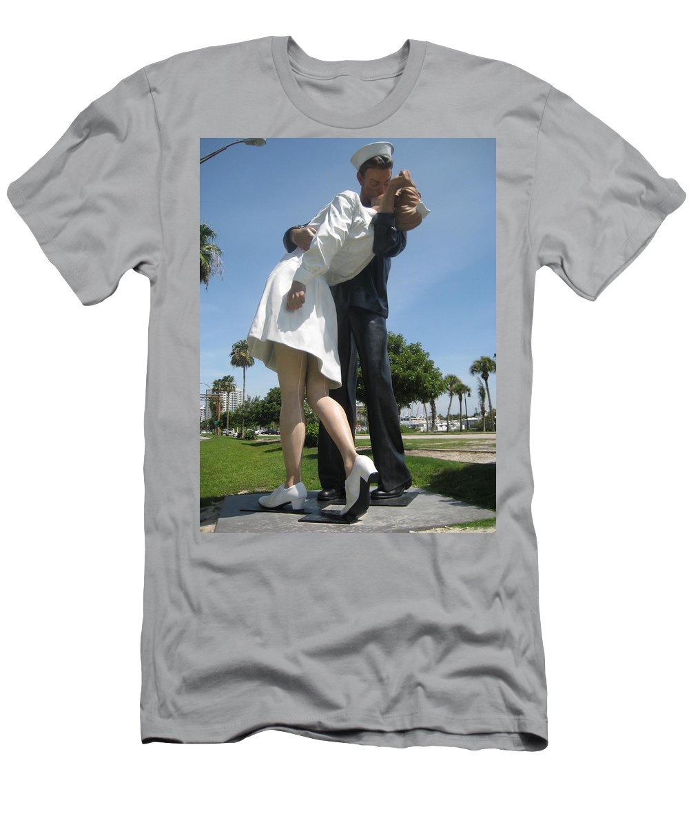 Landscape Men's T-Shirt (Athletic Fit) featuring the photograph Love by Mirjana Gotovac