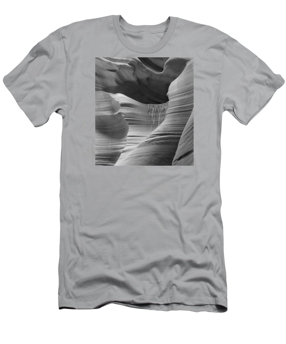 Slot Men's T-Shirt (Athletic Fit) featuring the photograph Lower Antelope Canyon 2 7934 by Bob Neiman