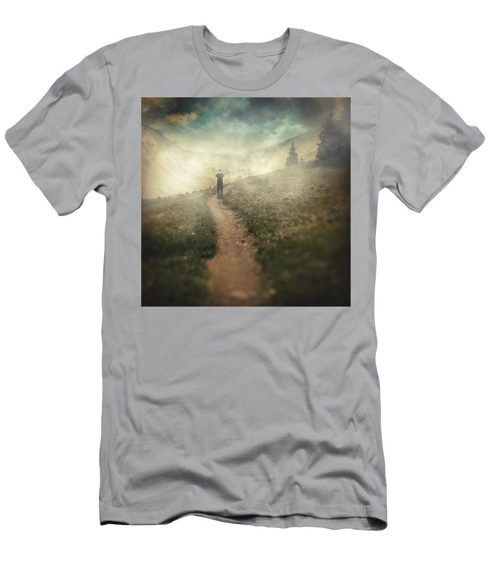 Surreal Men's T-Shirt (Athletic Fit) featuring the photograph Lucid Dream by Zapista