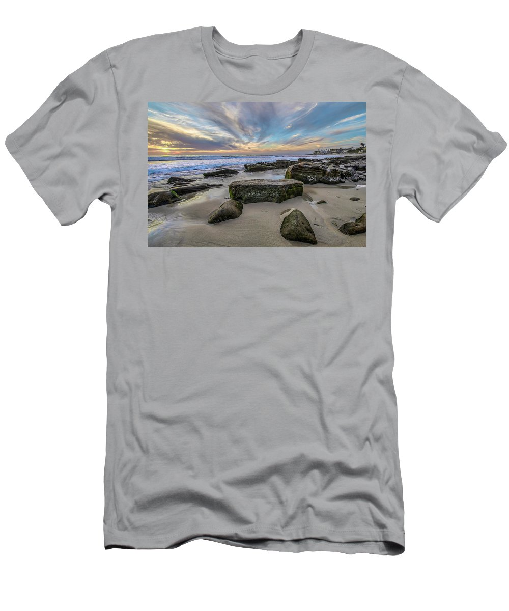 Clouds Men's T-Shirt (Athletic Fit) featuring the photograph Make Me Smile by Peter Tellone