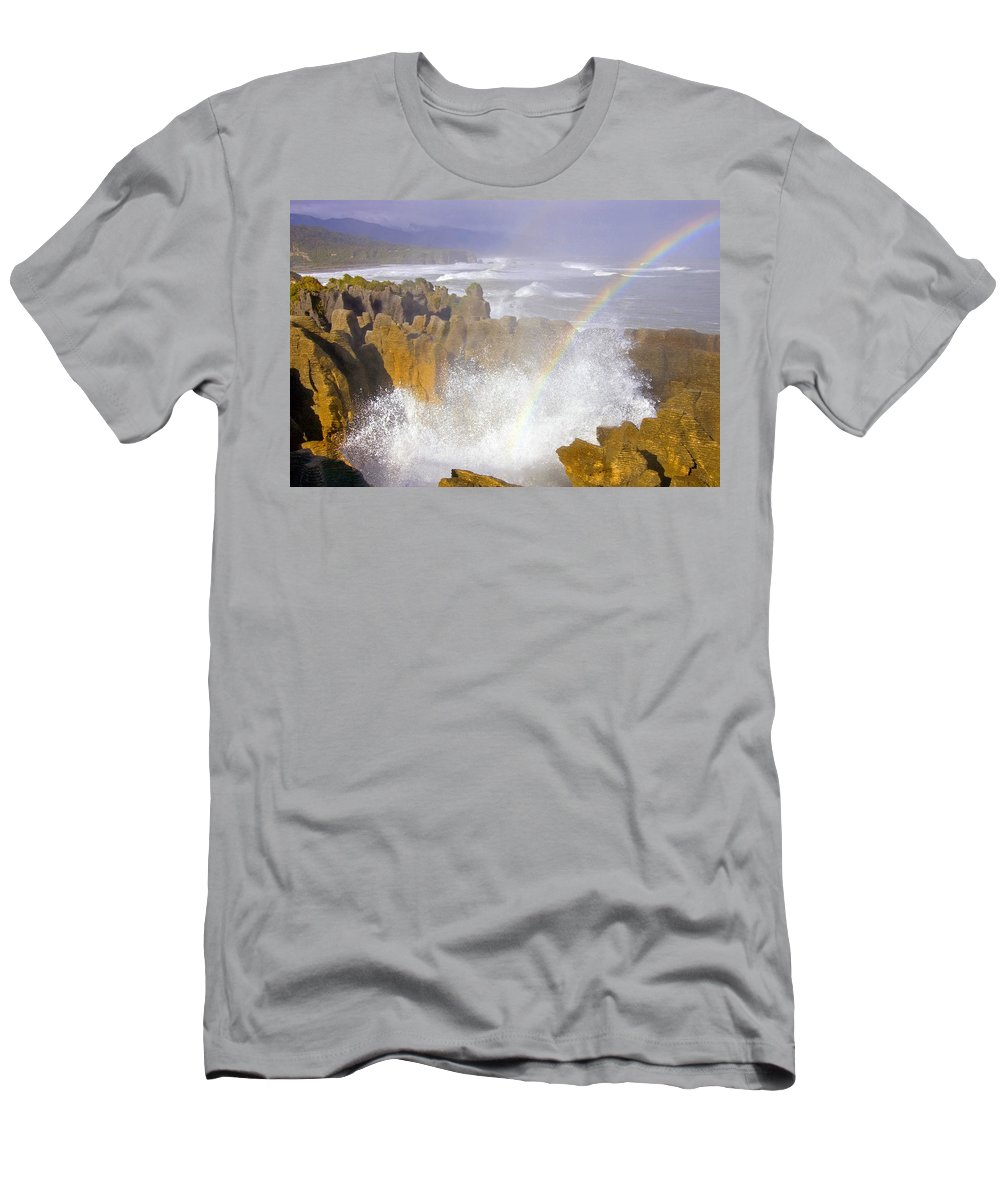 Paparoa Men's T-Shirt (Athletic Fit) featuring the photograph Making Miracles by Mike Dawson