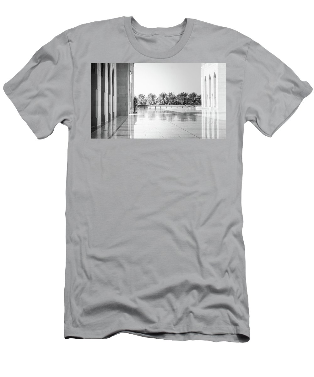 Muscat Men's T-Shirt (Athletic Fit) featuring the photograph Man From Muscat by Christoffer Karlsson