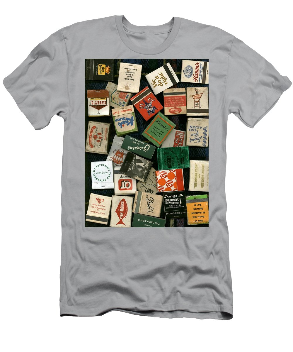 Matches Men's T-Shirt (Athletic Fit) featuring the photograph Matches by David Jacobi