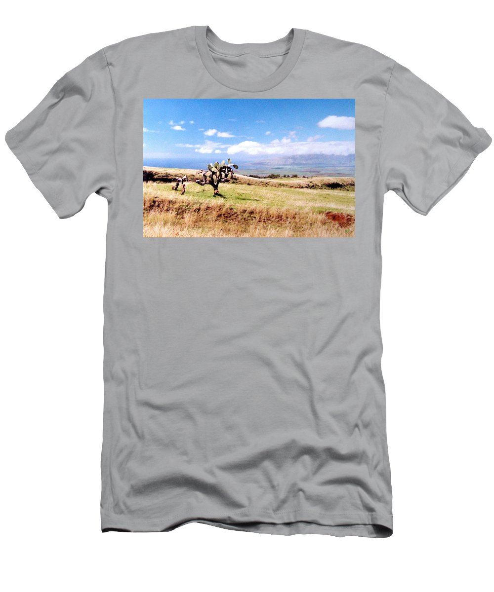 1986 Men's T-Shirt (Athletic Fit) featuring the photograph Maui Upcountry by Will Borden
