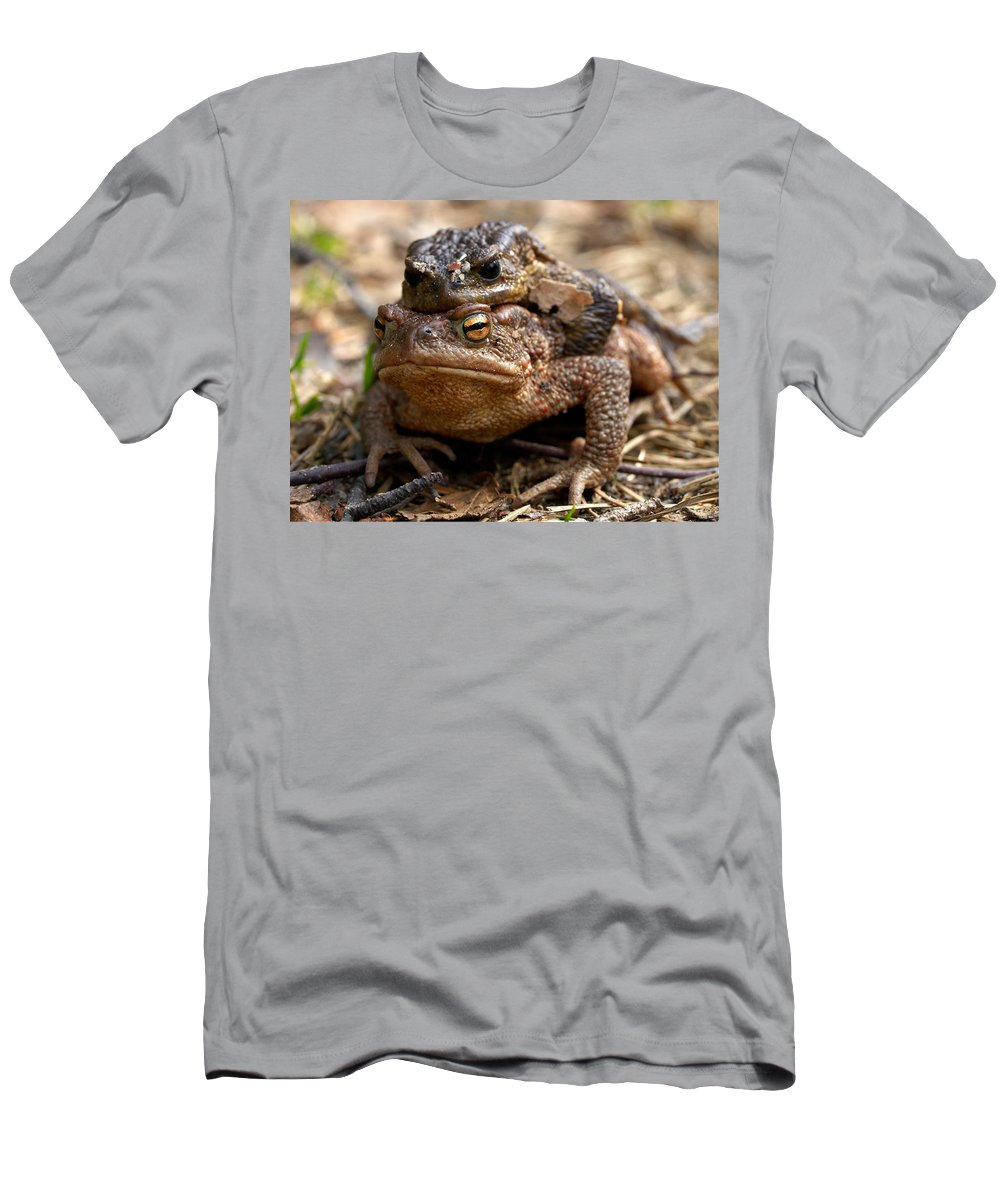 Seitseminen Men's T-Shirt (Athletic Fit) featuring the photograph Mine by Jouko Lehto