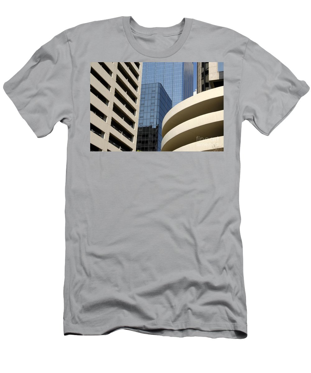 Modern Men's T-Shirt (Athletic Fit) featuring the photograph Modern Architecture by David Lee Thompson