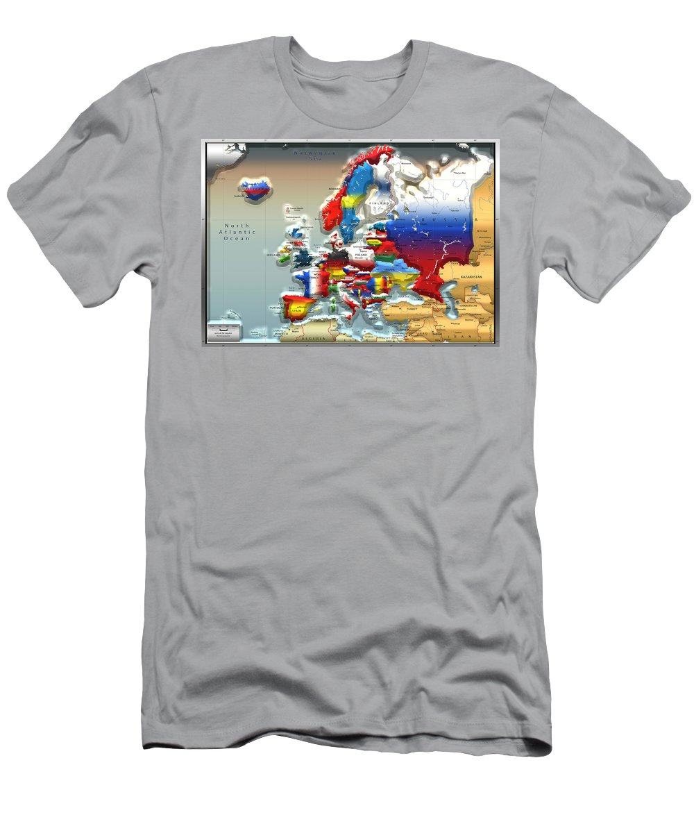 Topography Photographs T-Shirts