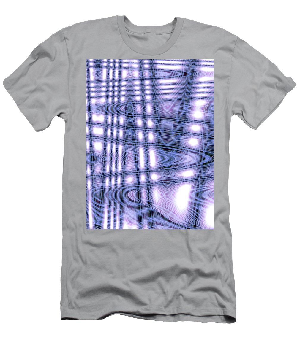 Moveonart Digital Gallery Lower Nob Hill San Francisco California Jacob Kanduch Men's T-Shirt (Athletic Fit) featuring the digital art Moveonart Spiritual Power 4 by Jacob Kanduch