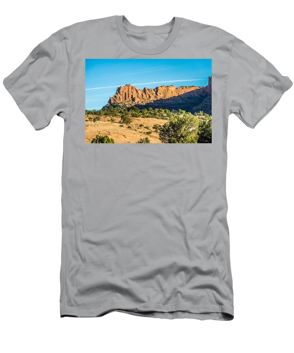 National Men's T-Shirt (Athletic Fit) featuring the photograph Navajo National Monument Canyons by Alex Grichenko