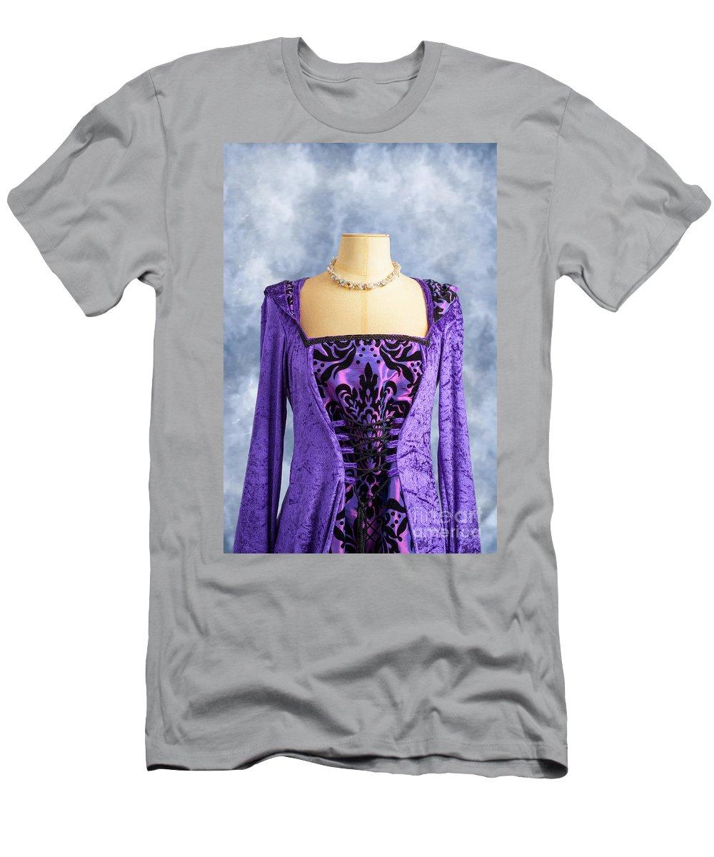 Expensive Men's T-Shirt (Athletic Fit) featuring the photograph Necklace And Dress by Amanda Elwell