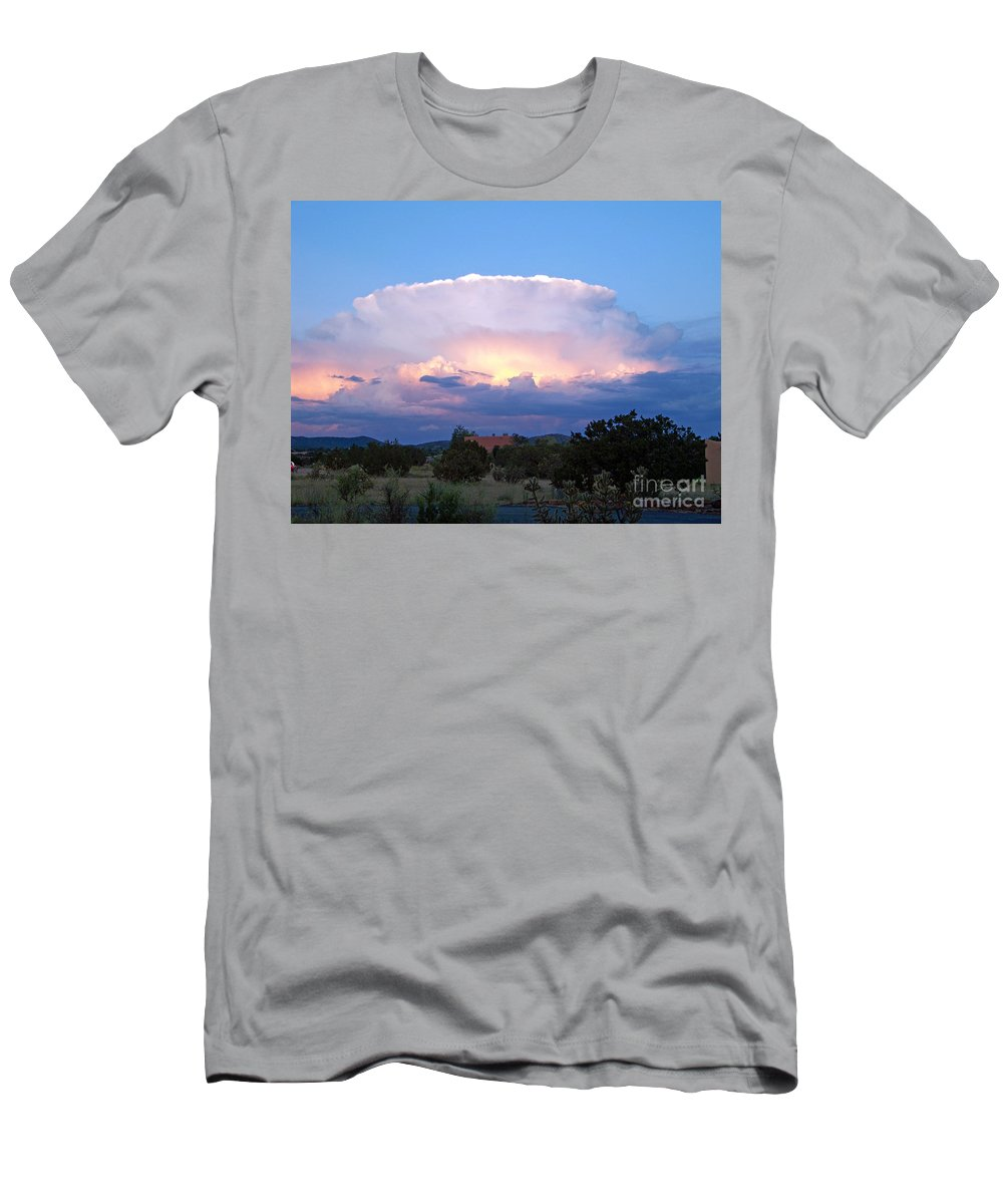 Sky Men's T-Shirt (Athletic Fit) featuring the photograph New Mexico - The Bomb by Brian Commerford