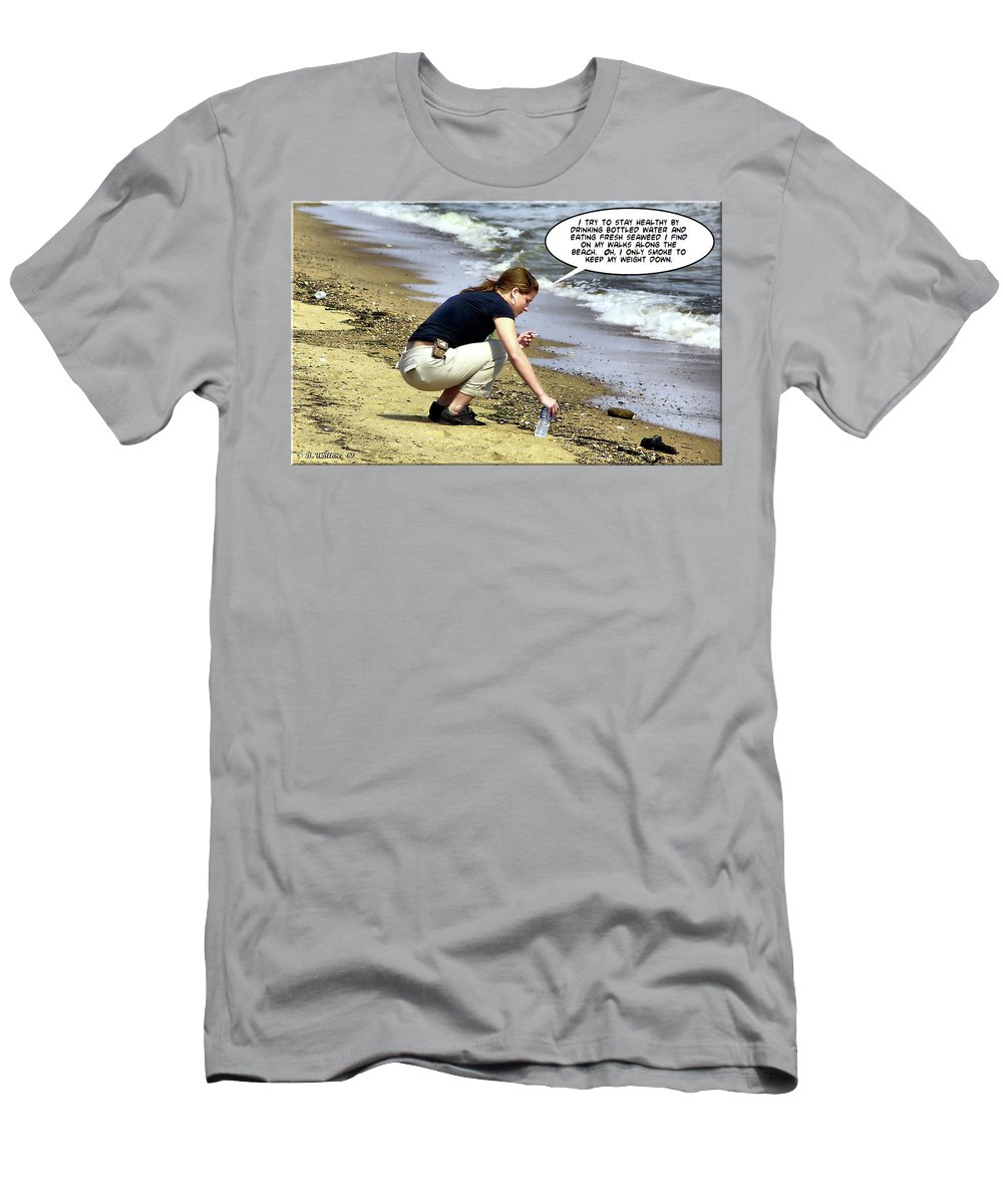 2d Men's T-Shirt (Athletic Fit) featuring the photograph New Year Resolution - Stay Healthy by Brian Wallace