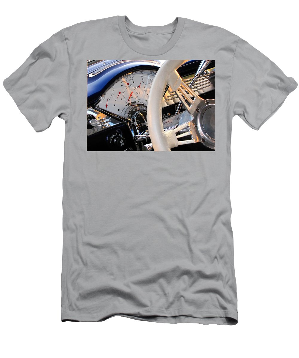 Dashboard Men's T-Shirt (Athletic Fit) featuring the photograph Now That's A Dashboard by Gary Adkins