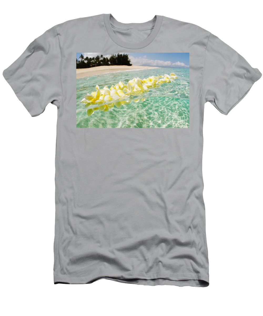Afternoon Men's T-Shirt (Athletic Fit) featuring the photograph Ocean Lei by Vince Cavataio - Printscapes