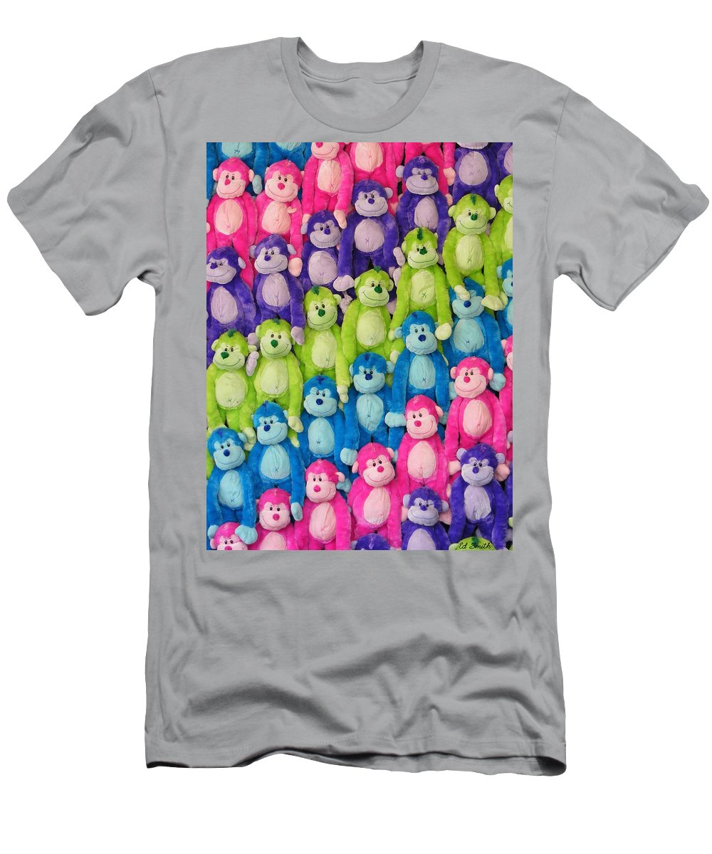 Ok Smiles Men's T-Shirt (Athletic Fit) featuring the photograph Ok Smiles Everyone by Ed Smith