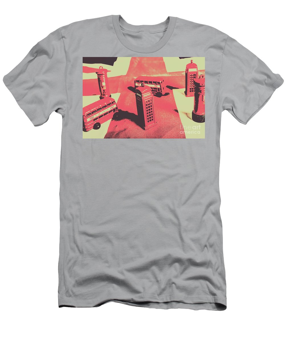 English Men's T-Shirt (Athletic Fit) featuring the photograph Old Tourism Uk by Jorgo Photography - Wall Art Gallery