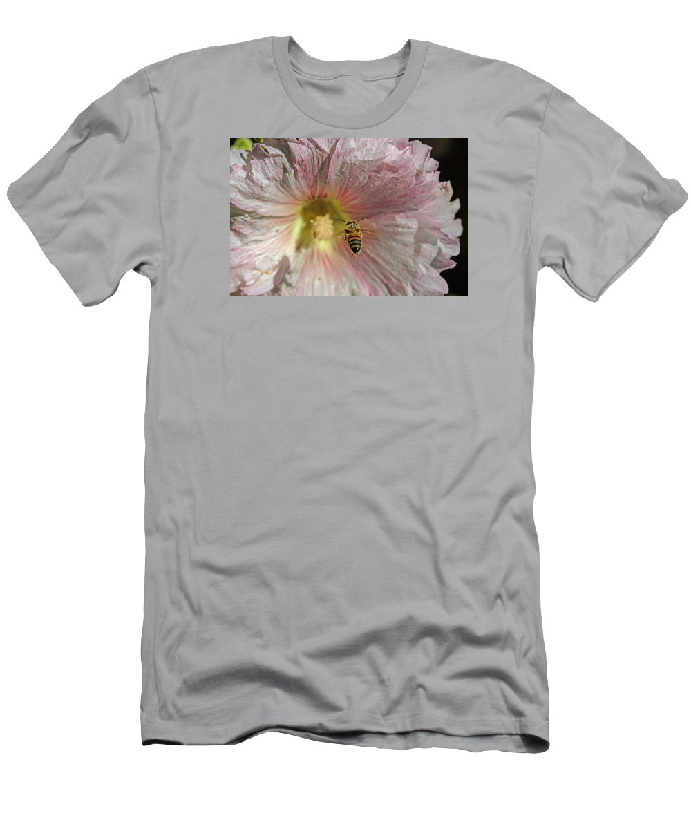 Floral T-Shirt featuring the photograph On Target by Alana Thrower