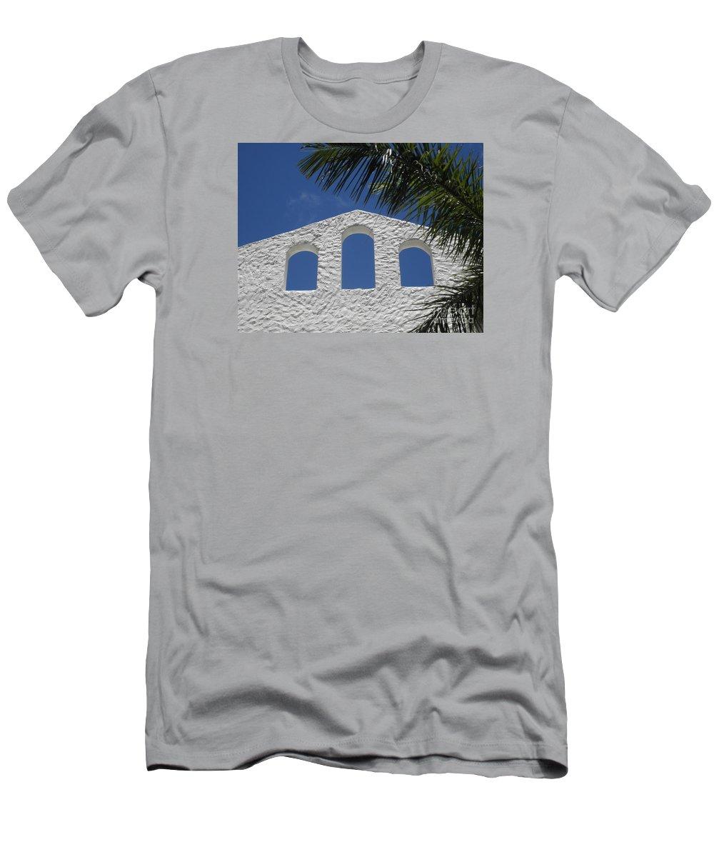 St. Maarten Men's T-Shirt (Athletic Fit) featuring the photograph Open Air In St. Maarten by Neil Zimmerman