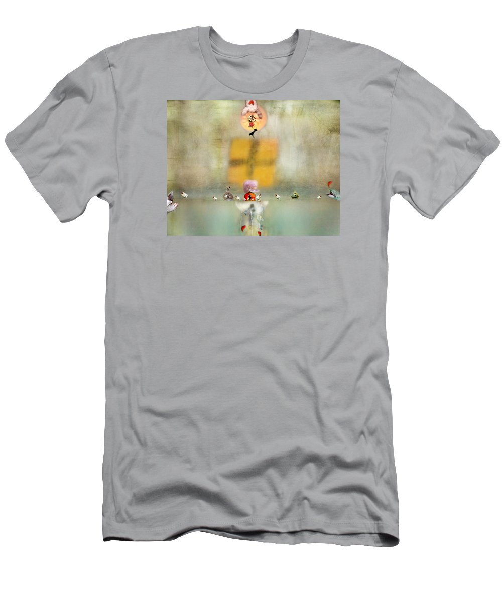 Fish Men's T-Shirt (Athletic Fit) featuring the photograph Openings by Karen Divine