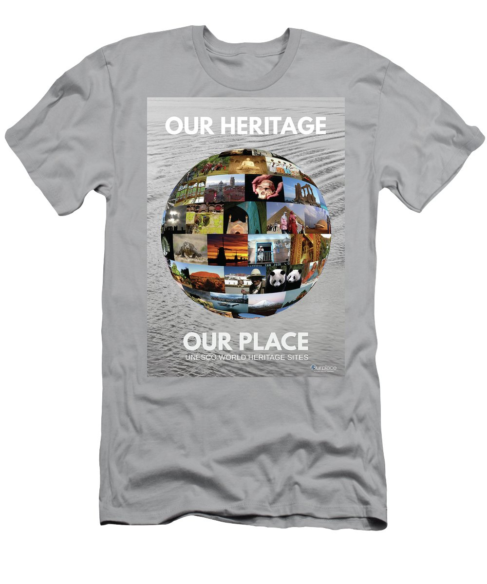 Conservation Men's T-Shirt (Athletic Fit) featuring the photograph Our Heritage Our Place by Koru Inc