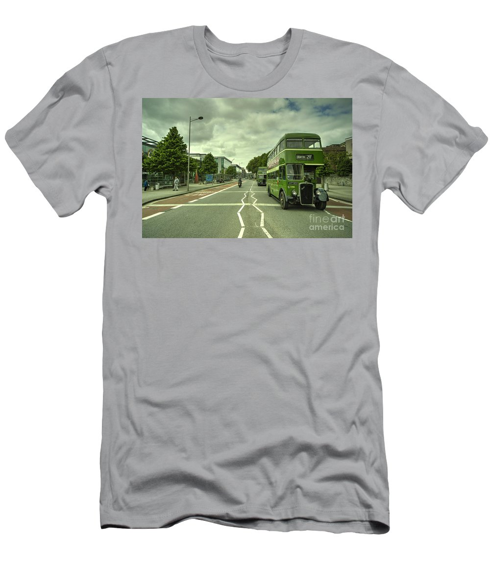 Bristol Men's T-Shirt (Athletic Fit) featuring the photograph Pair O Bristol S by Rob Hawkins