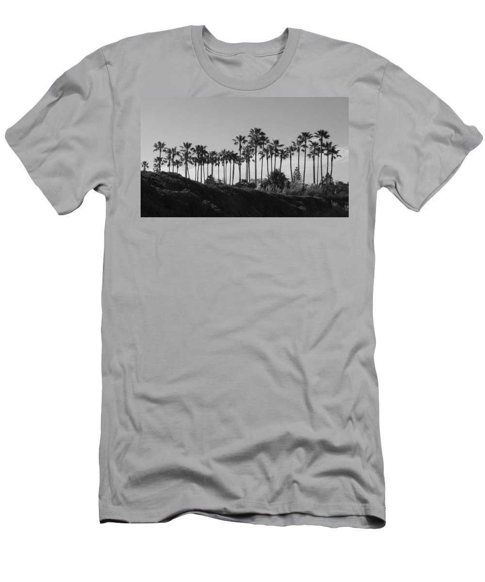 Landscapes Men's T-Shirt (Athletic Fit) featuring the photograph Palms by Shari Chavira