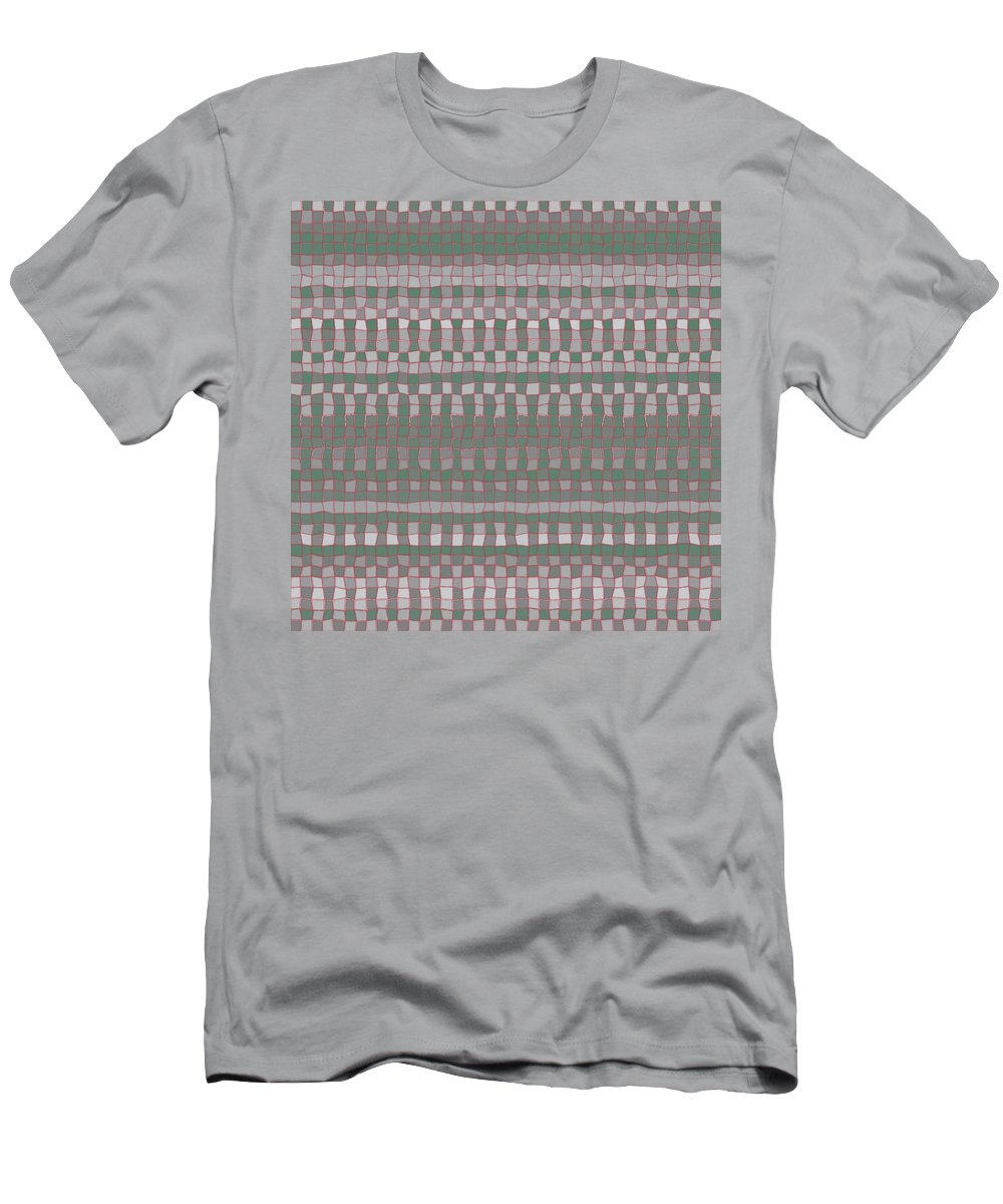 Pattern 148 Men's T-Shirt (Athletic Fit) featuring the digital art Pattern 148 by Marko Sabotin