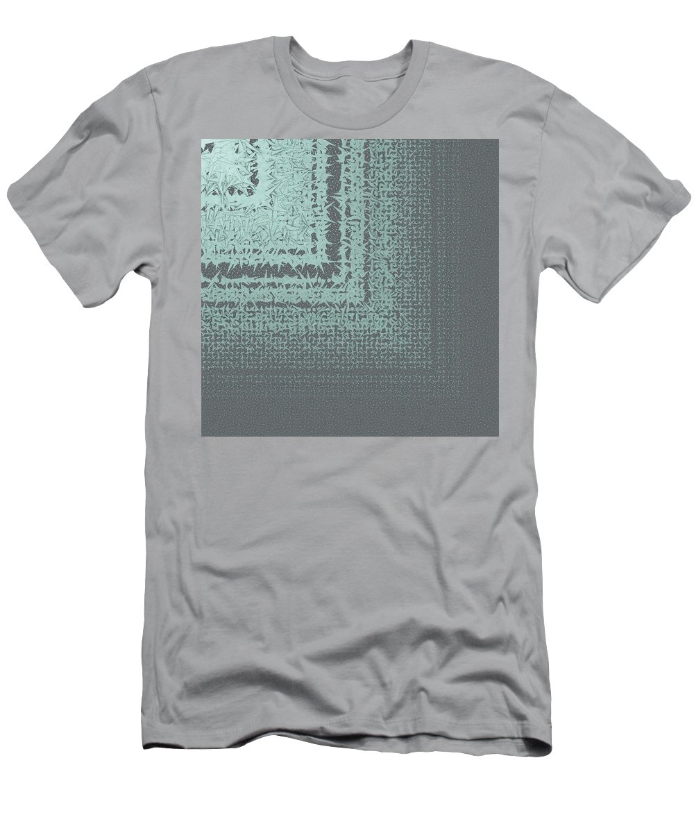 Pattern 180 Men's T-Shirt (Athletic Fit) featuring the digital art Pattern 180 by Marko Sabotin