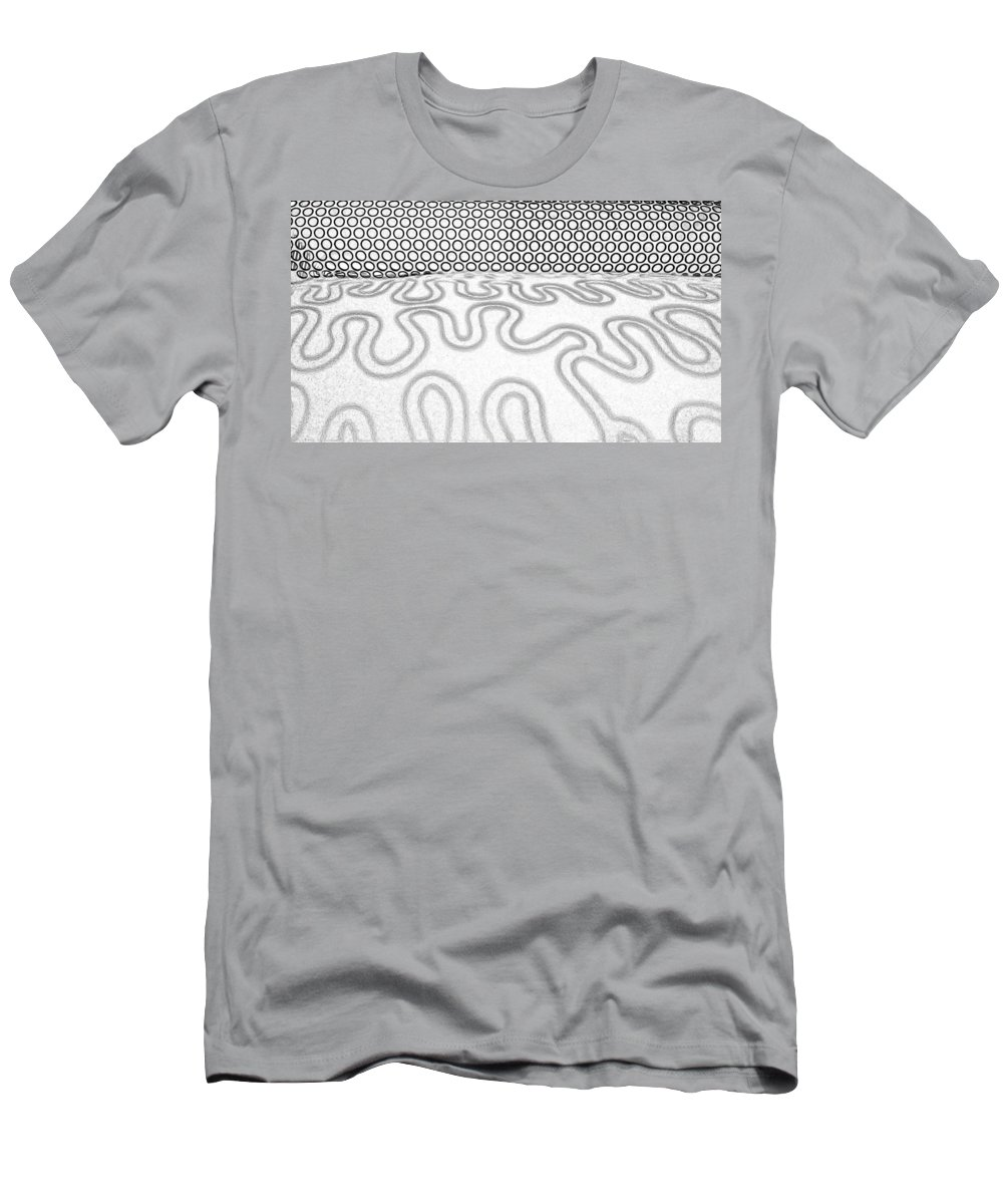 Patterns Men's T-Shirt (Athletic Fit) featuring the photograph Patterns by Caterina Kuo