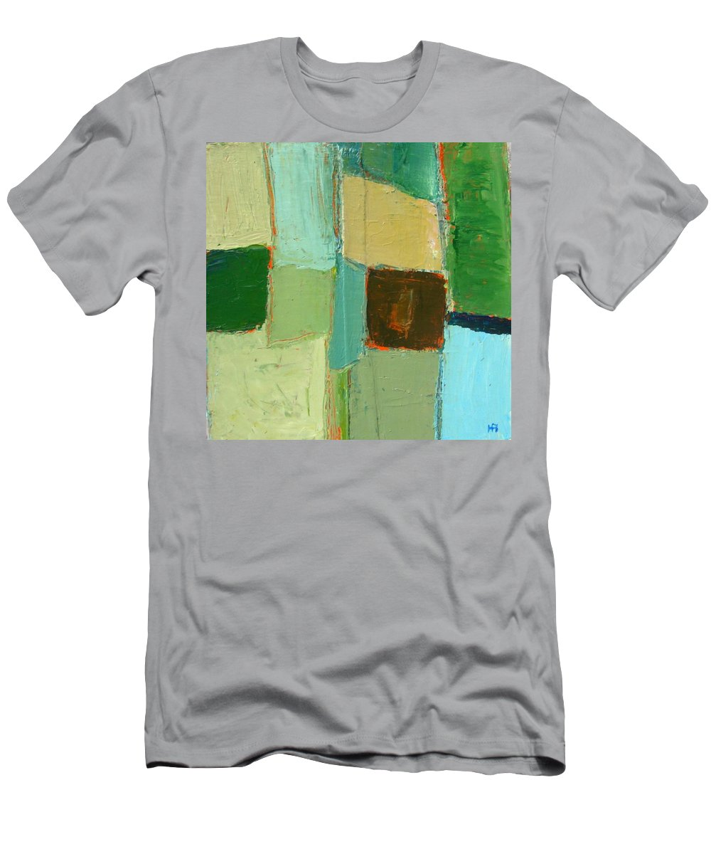 Men's T-Shirt (Athletic Fit) featuring the painting Peace 2 by Habib Ayat