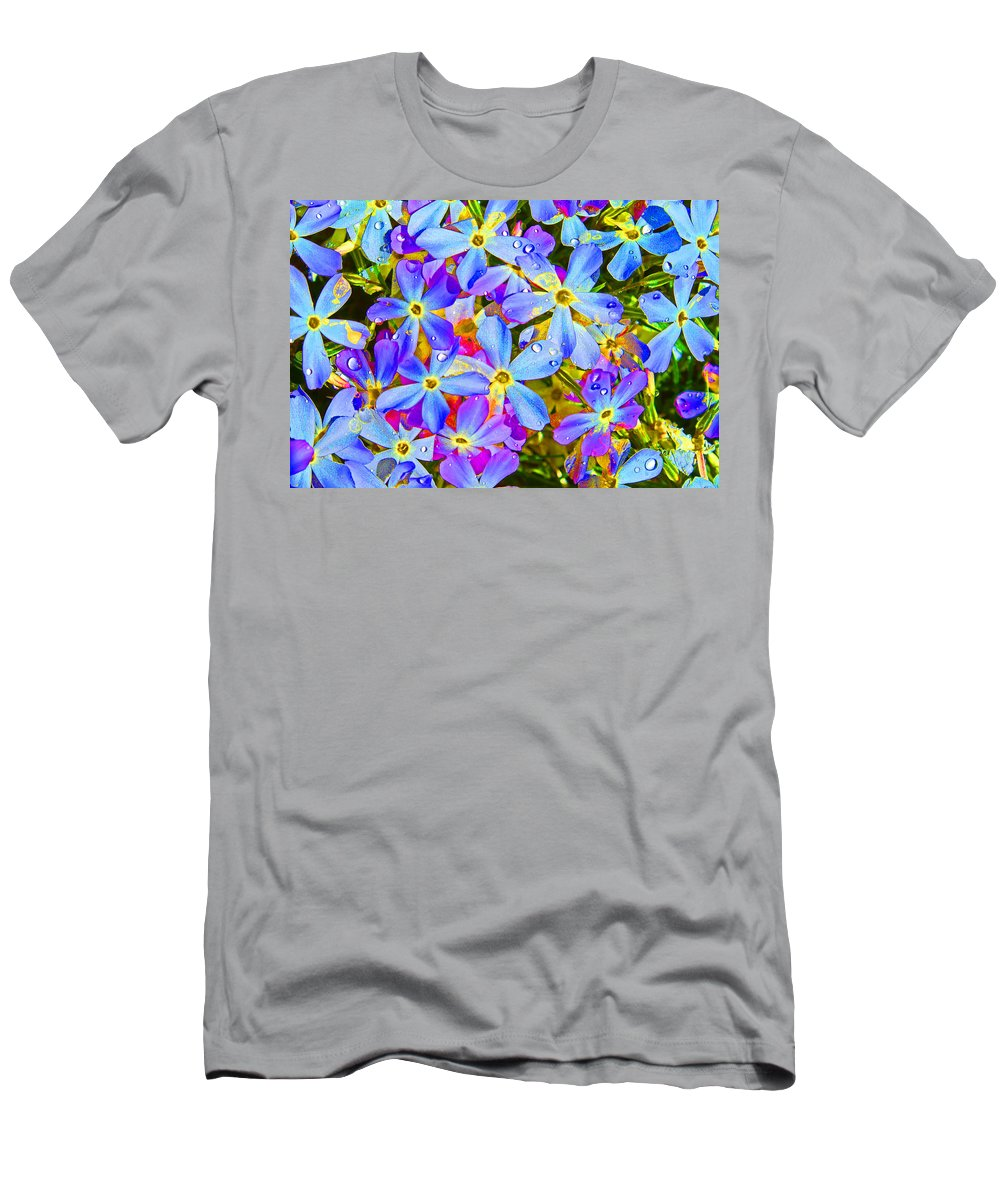 Wildflower T-Shirt featuring the photograph Pincushion Flower by Heather Coen