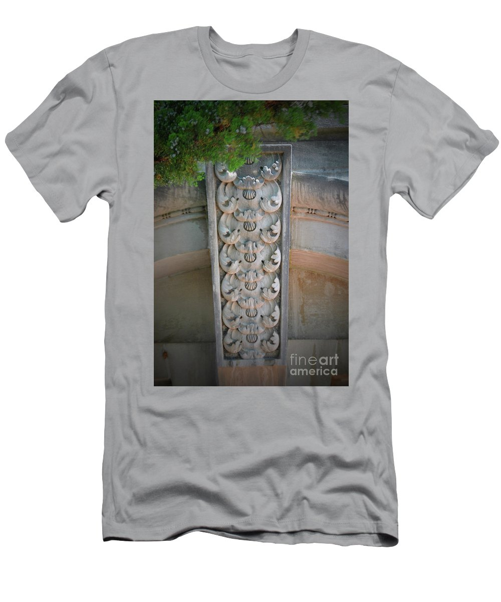 Handley Men's T-Shirt (Athletic Fit) featuring the photograph Pine Of Stone by Jost Houk