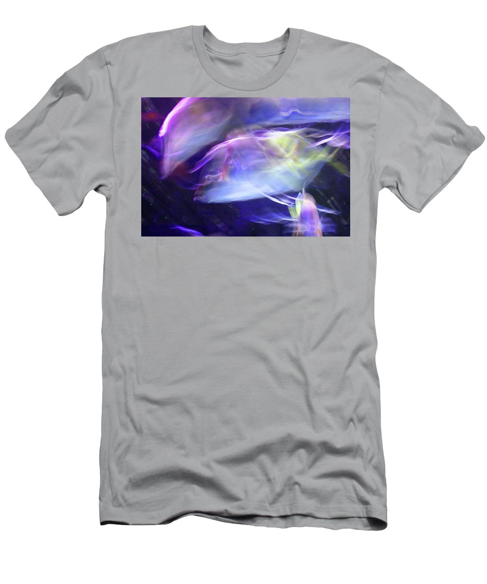 Abstract T-Shirt featuring the photograph Pisces by Steve Karol